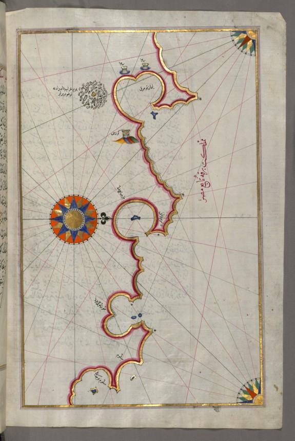 Map of the Libyan Coast as Far as Salum