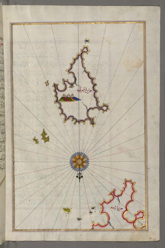Map of Serofos (Koyunluga) Island