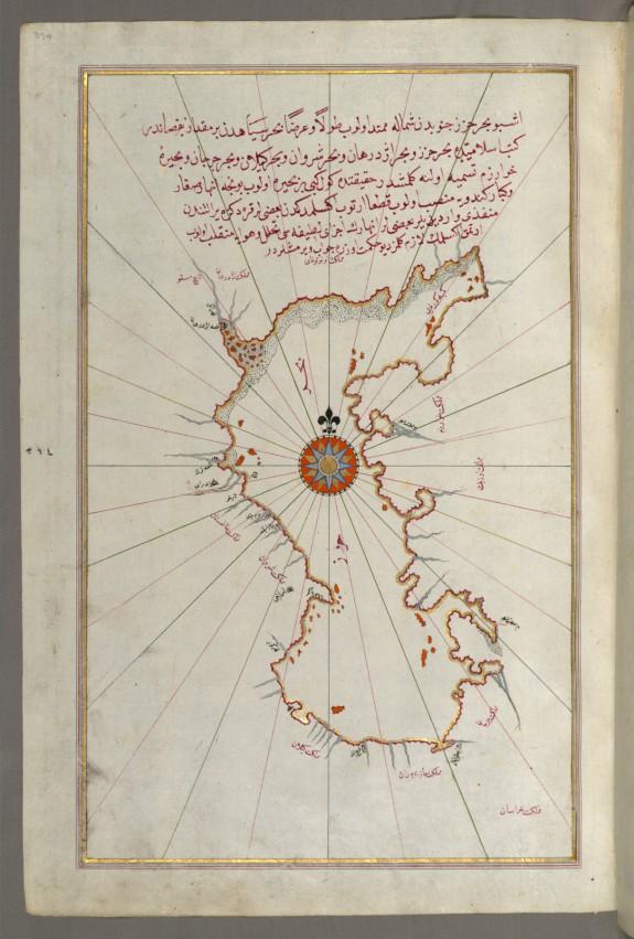 Map of the Caspian Sea