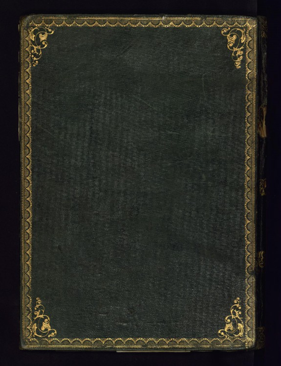 Binding from Ottoman Diploma in Calligraphy