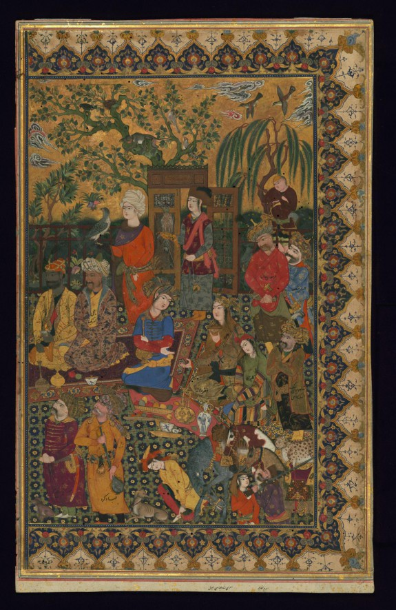 Courtiers of Shah 'Abbas I