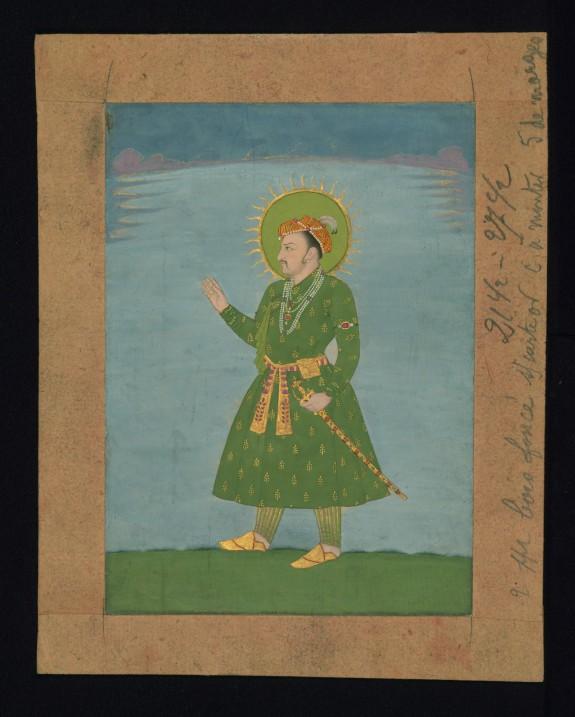 Portrait of the Emperor Jahangir
