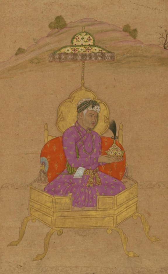 Single Leaf of a Portrait of the Emperor Akbar