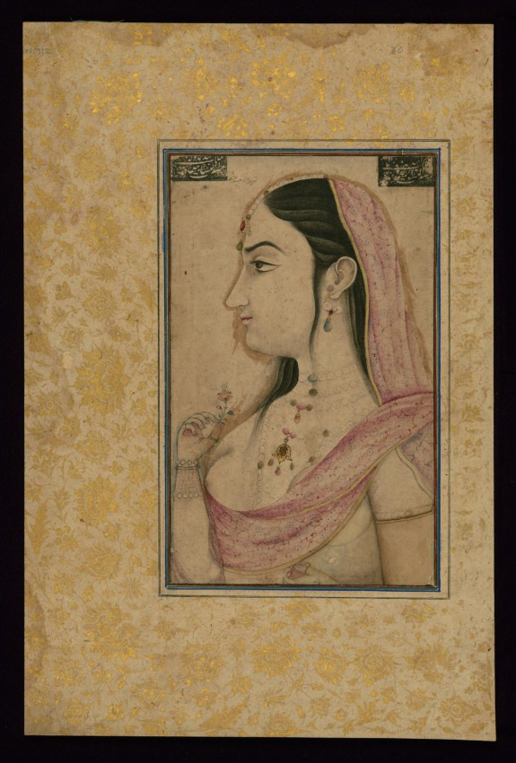 Portrait of Lal Kunwar