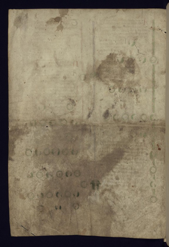 Leaf from Peter of Poitiers' Historical genealogy of Christ