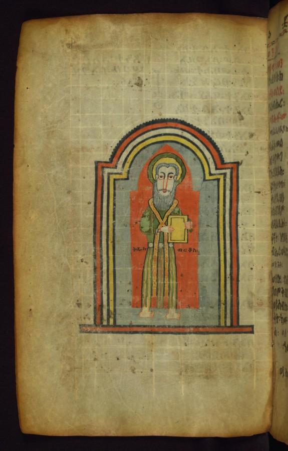 Portrait of the Evangelist Mark