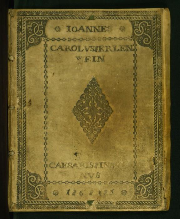Liber Amicorum of Joannes Carolus Erlenwein