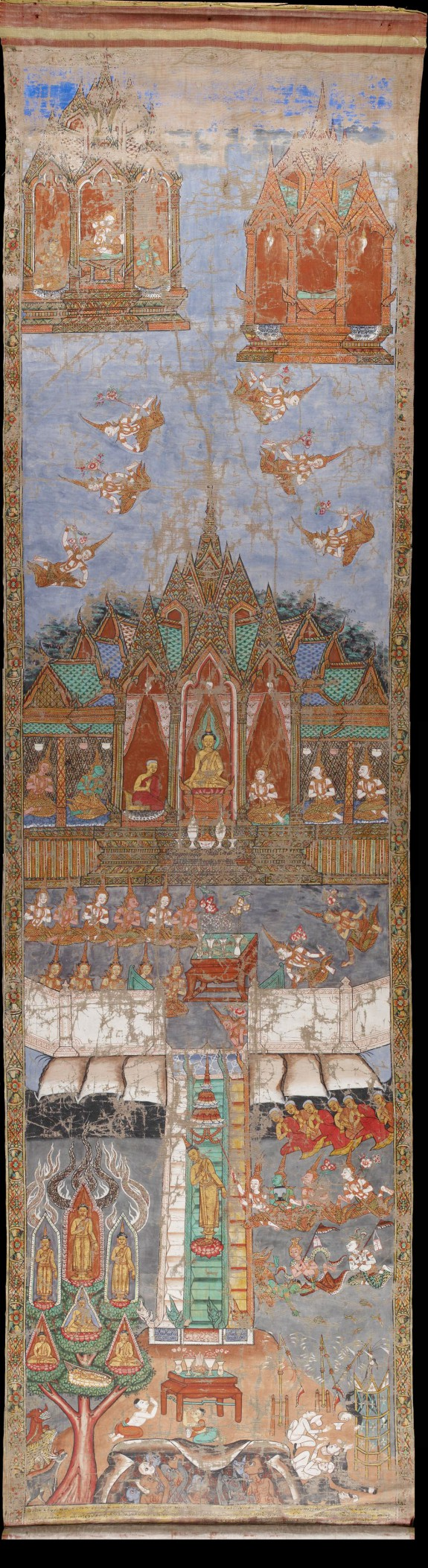 The Buddha's Descent from Heaven