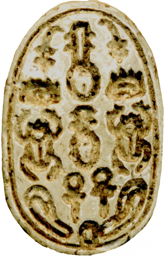 Scarab with Script Signs