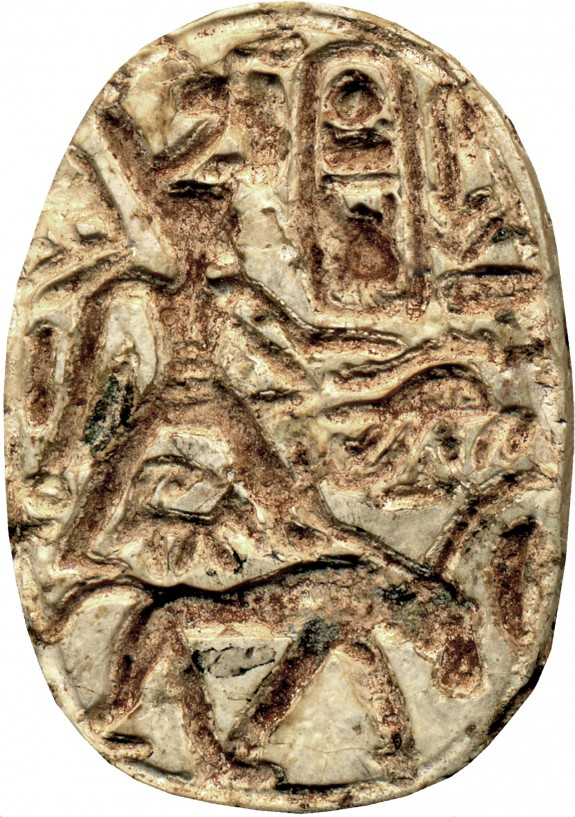 Scarab with the Cartouche of Thutmosis III (1479-1425 BC)