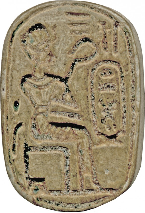 Plaque with the Throne Name of Thutmosis IV