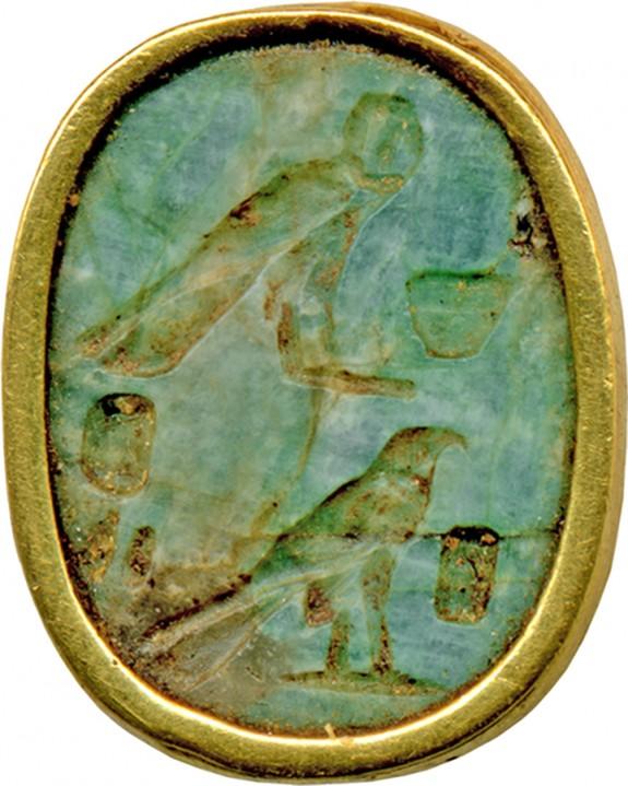 Scarab Ring Bezel