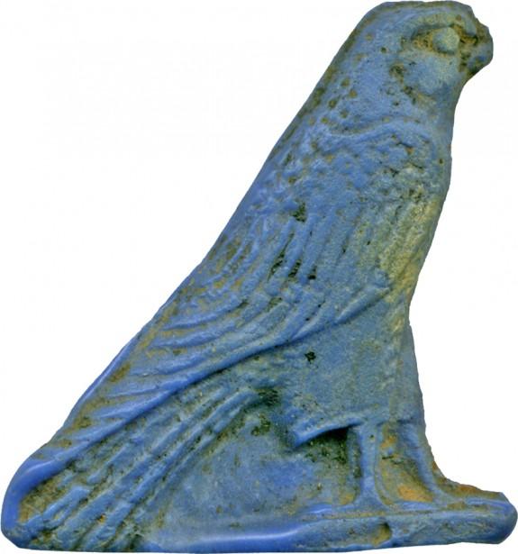Inlay of a Falcon
