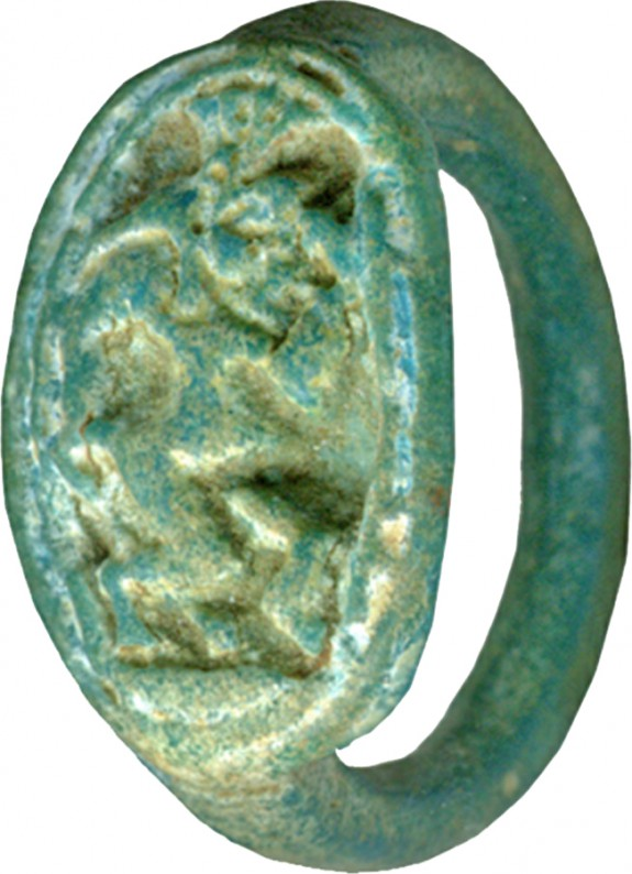Ring Depicting Bes(?)