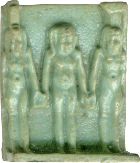 Triad of Isis, Nepthys, and Harpocrates