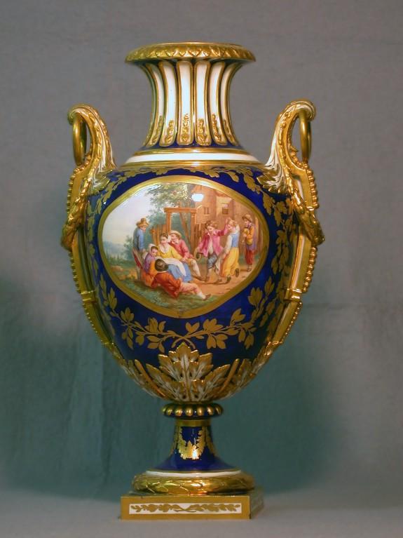 Oviform Vase