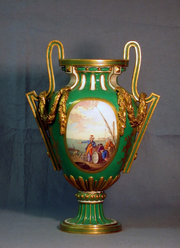 One of a Pair of Vases (Vase à bâtons rompus)