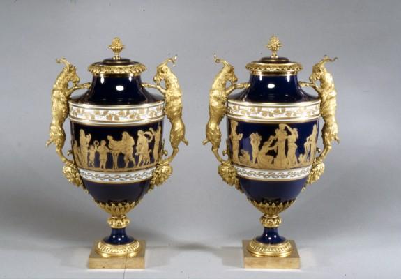 Pair of Vases (Vases Boizot)