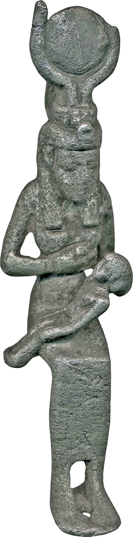 Pendant, Isis with Horus the Child