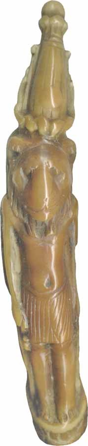 Lion-Headed Figure