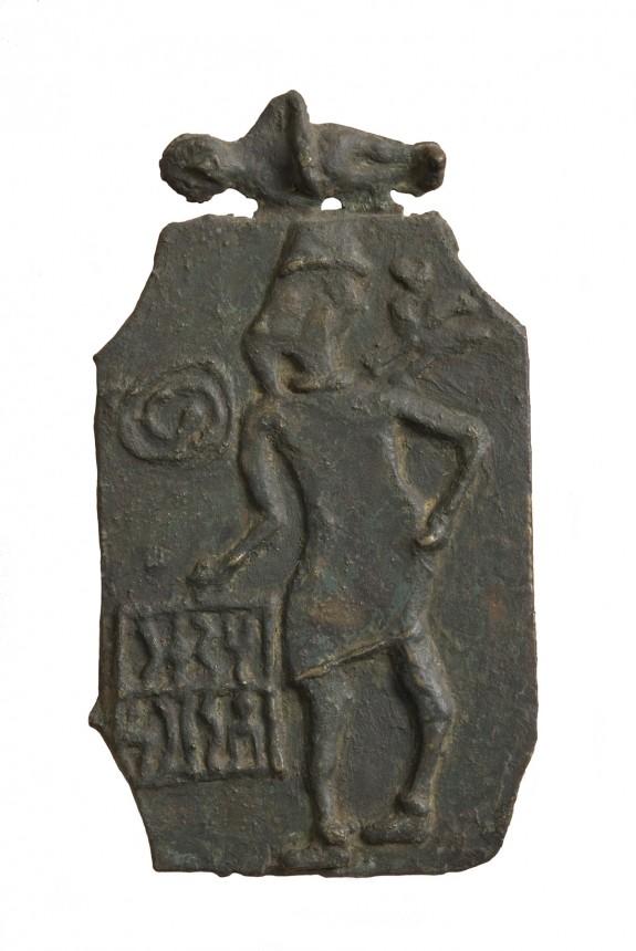 Plaque of a Man