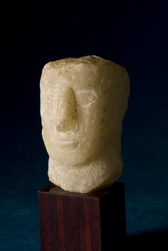 Head of a Man with a Rectangular Face