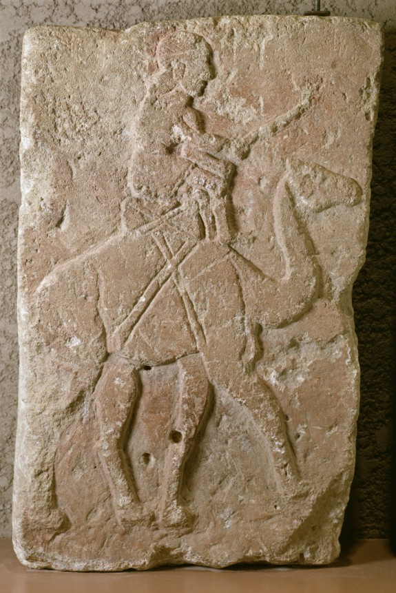 Relief with Dromedary Rider