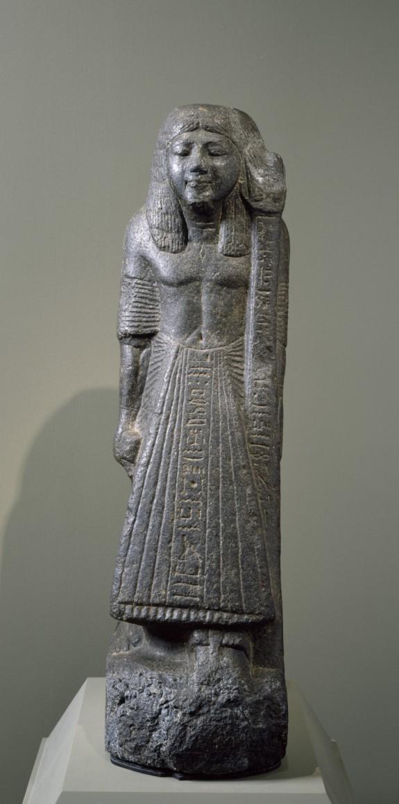 Statue of a Standard Bearer: Hor-nakht