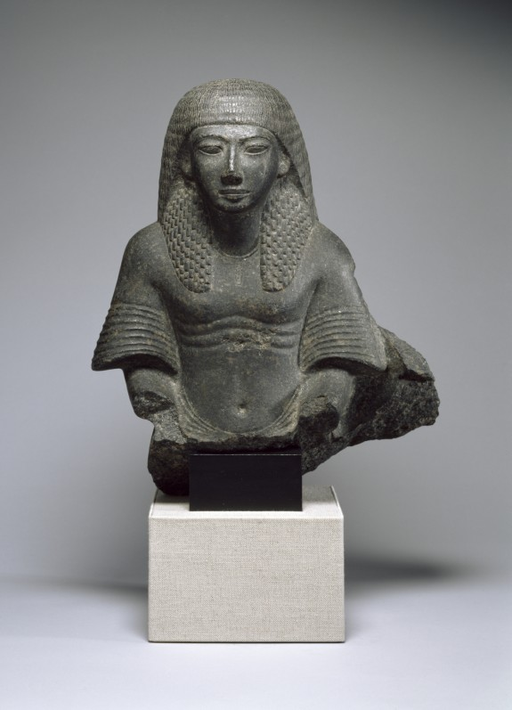 Male Bust From a Group Statue