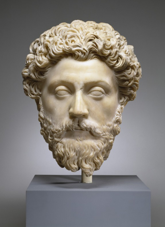 Portrait of the Emperor Marcus Aurelius