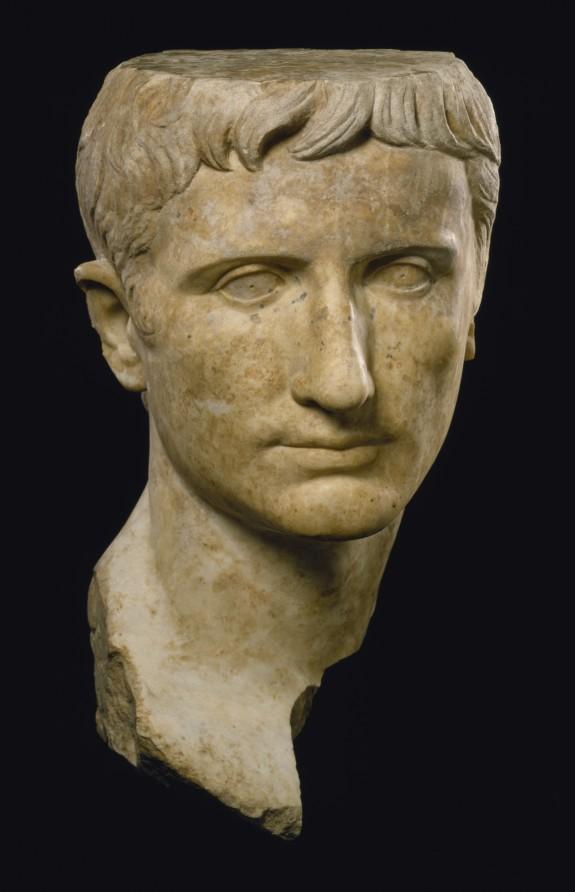 Portrait of Emperor Augustus