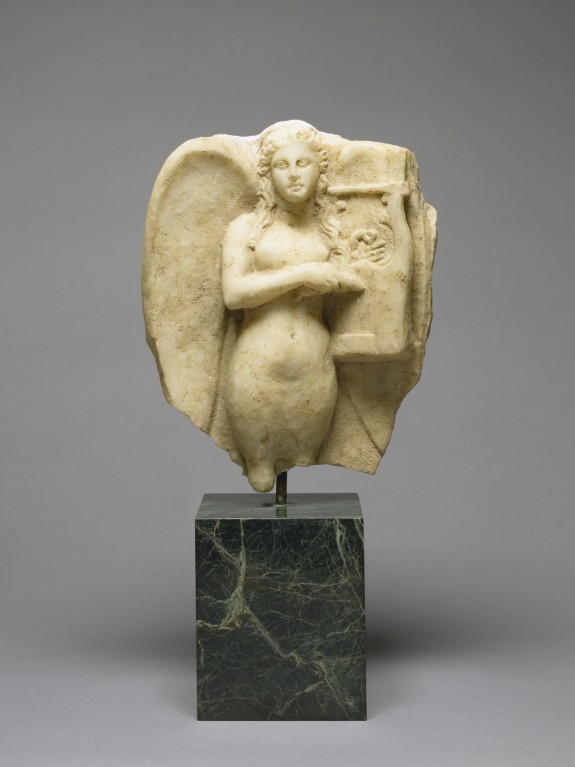 Siren with a Kithara from a Grave Monument