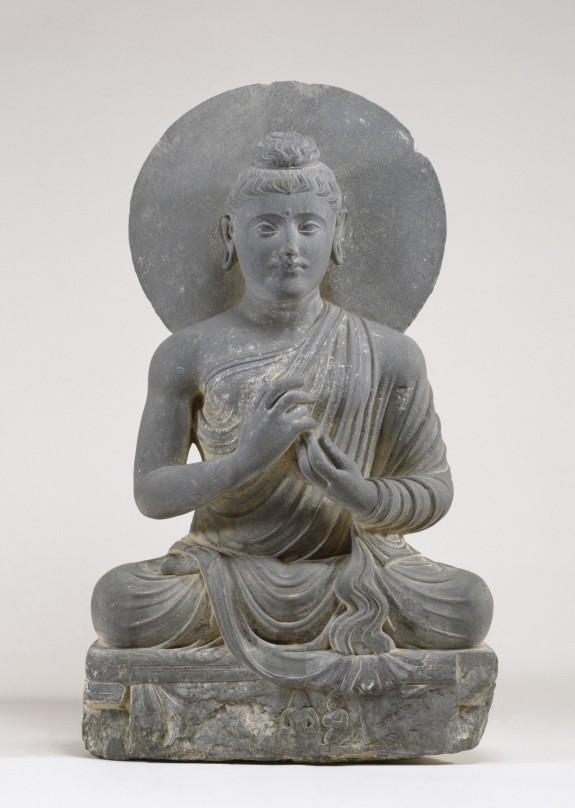 Seated Buddha in the Attitude of Preaching