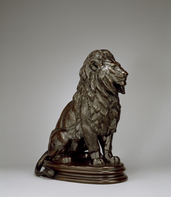 Seated Lion No. 1