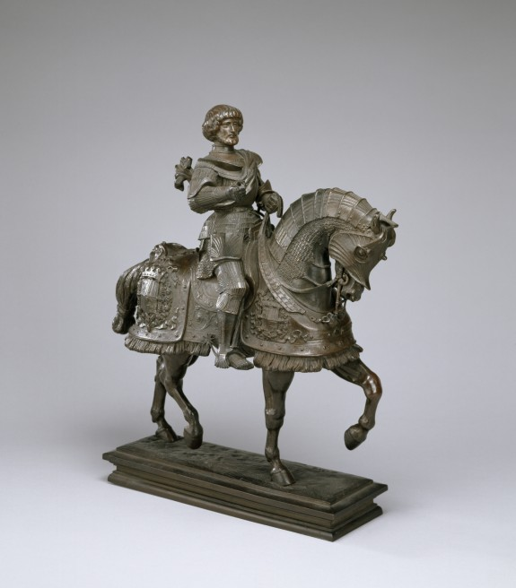 Gaston de Foix (1489-1512) on Horseback