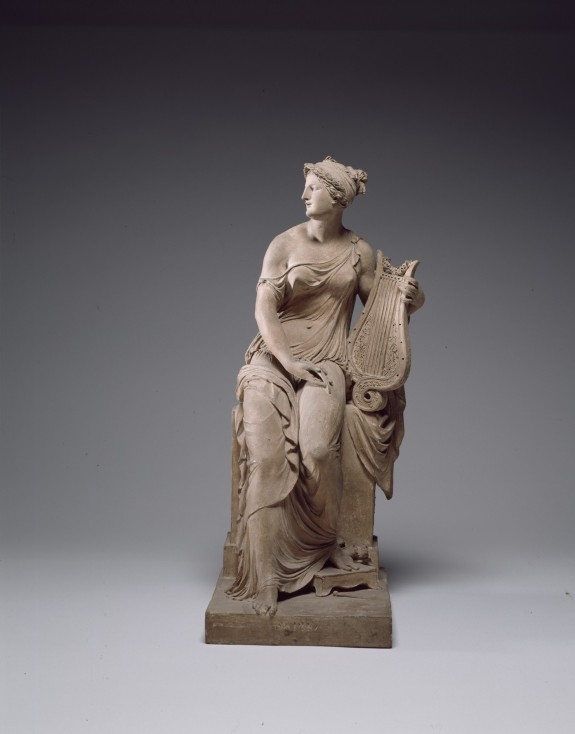 Sappho (Seated Woman Holding a Lyre)
