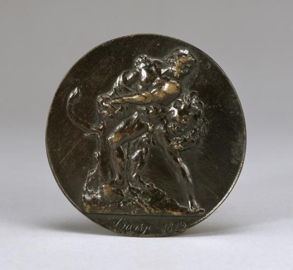 Milo of Croton Devoured by a Lion