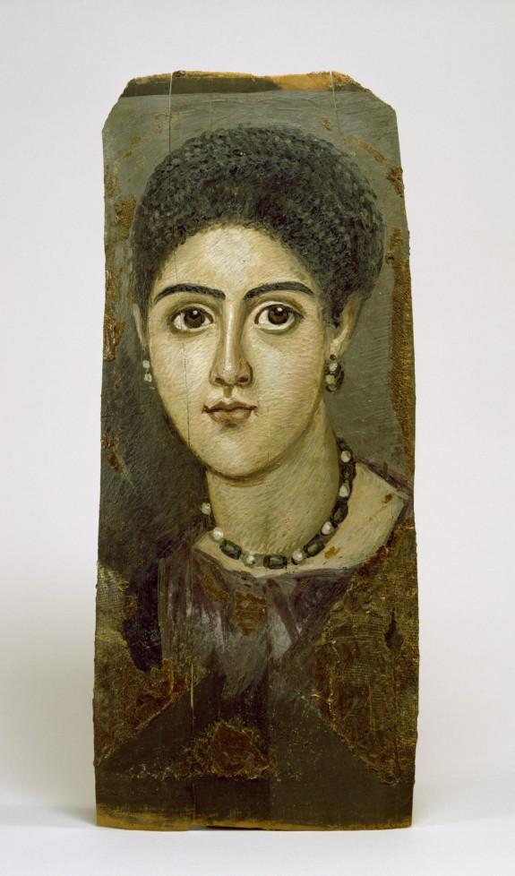 Panel Portrait of a Woman