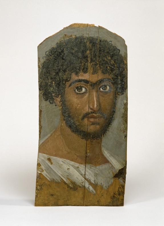 Panel Portrait of a Bearded Man