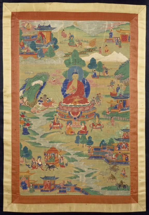 Buddha Shakyamuni with