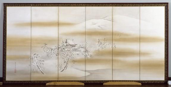 Byodo-in Temple in Winter