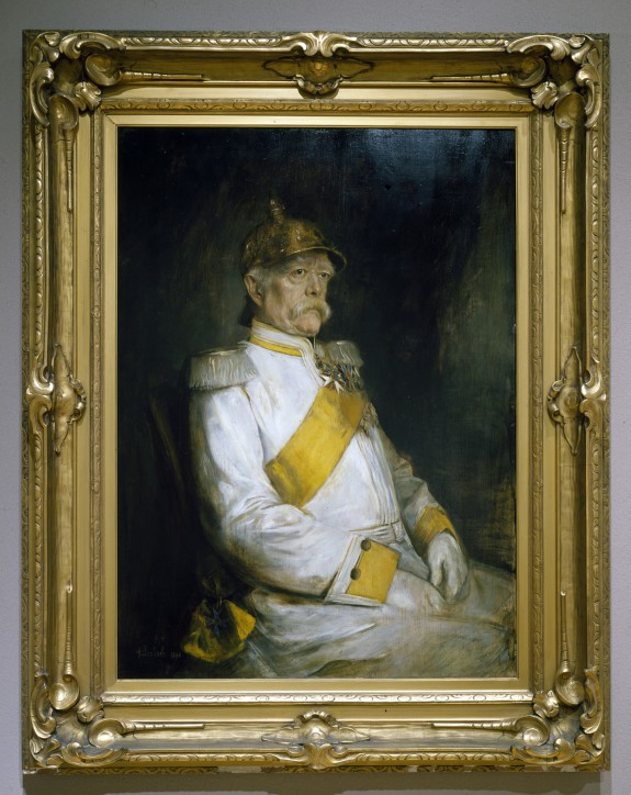 Portrait of Otto Eduard Leopold von Bismarck