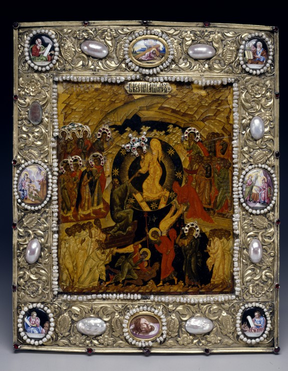 Icon Of The Descent Into Hell 183 The Walters Art Museum