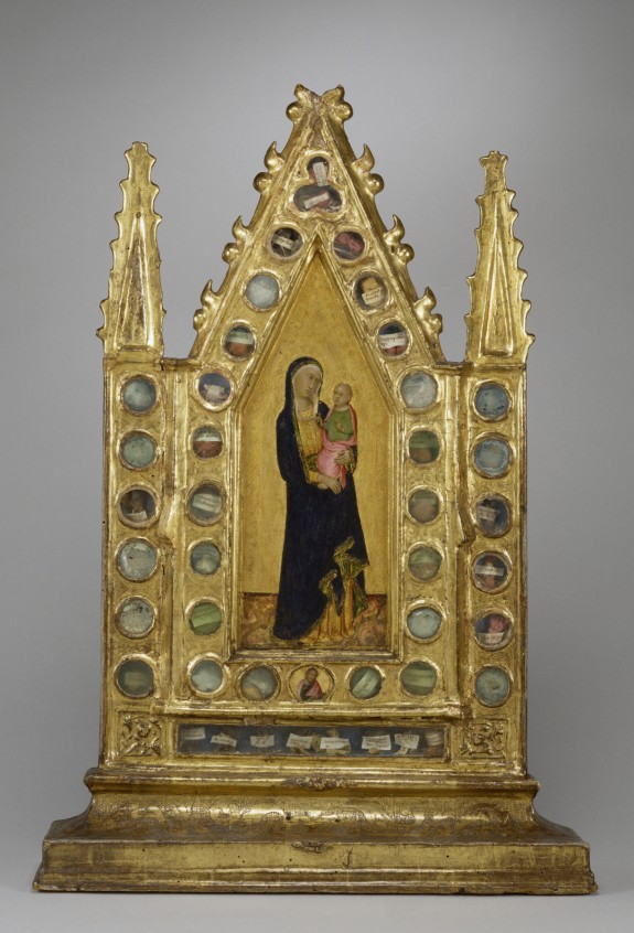 Reliquary Tabernacle with the Virgin and Child