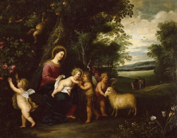 Holy Family Departing for Egypt
