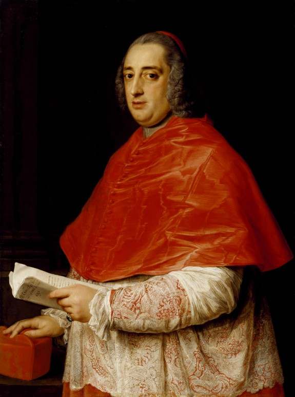 Portrait of Cardinal Prospero Colonna di Sciarra