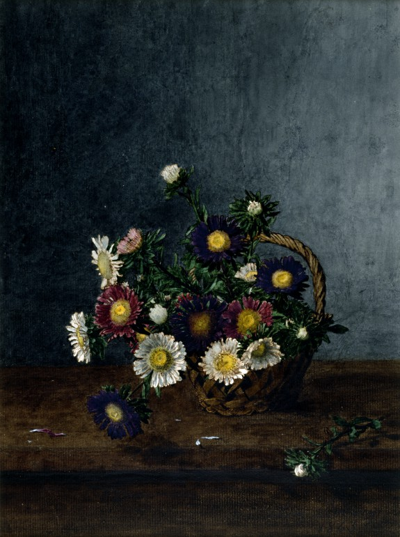 Basket of Asters