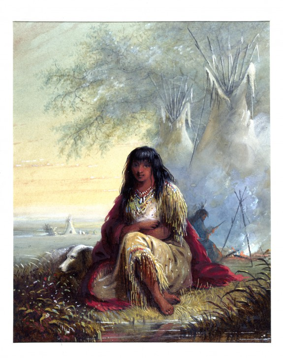 Indian Girl (Sioux)