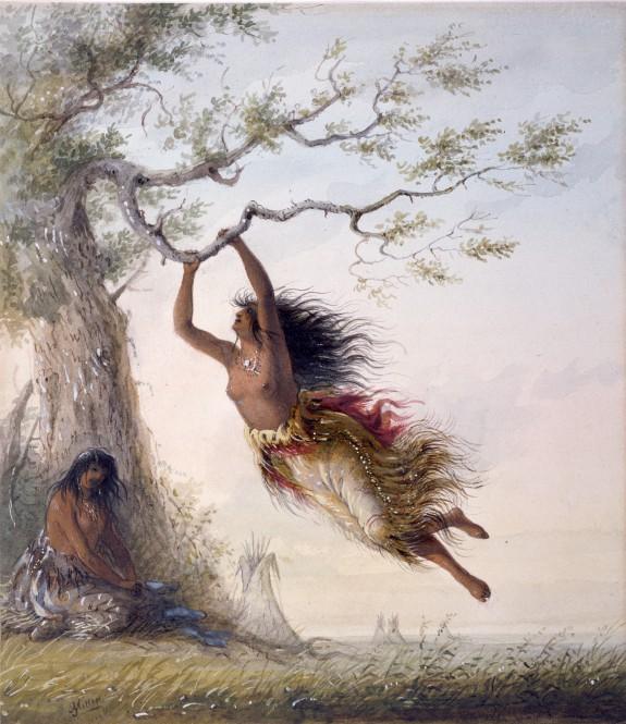Indian Girls, Swinging