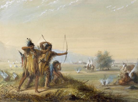Snake Indians - Testing Bows